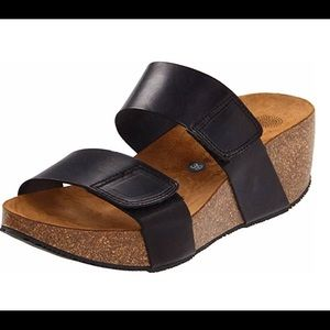 Eric Michael for Lola Sabbia platform sandals